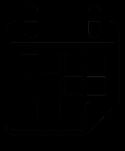 naptár ikon